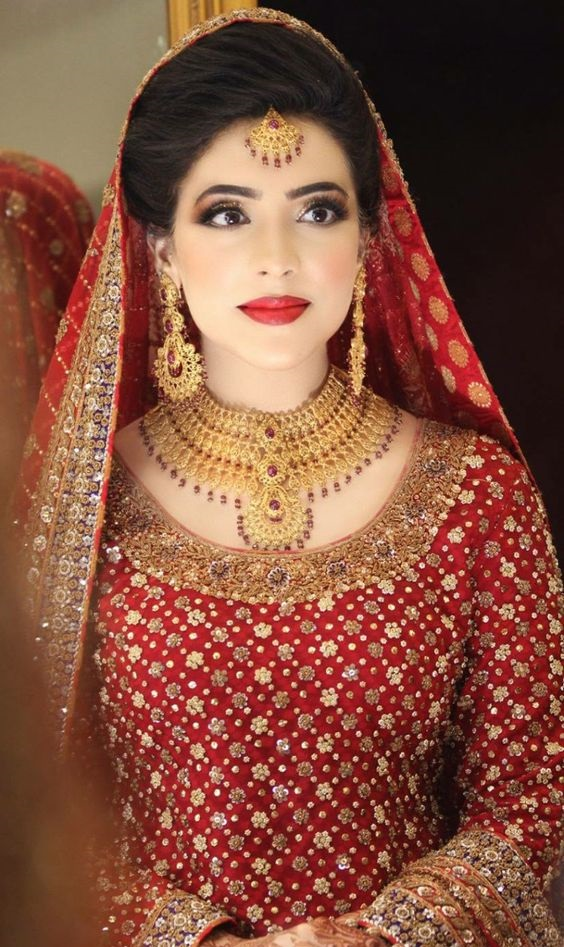 Bridal Gold jewellry