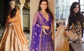 Indian Wedding Sangeet Dresses 2017 Trends for Brides to Be
