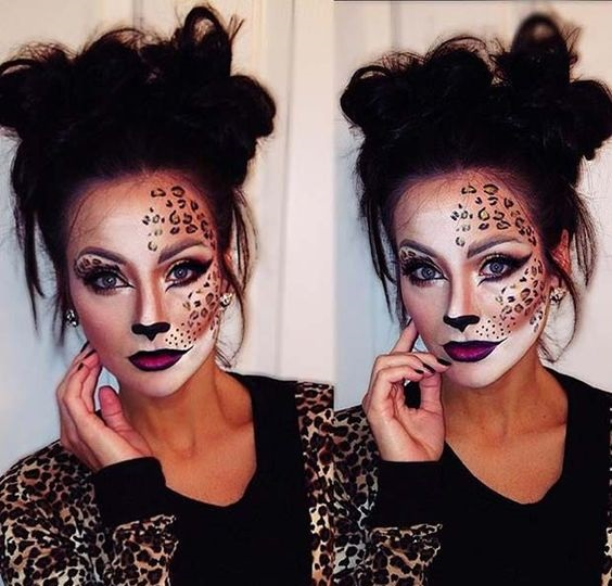 The Halloween Cheetah girl