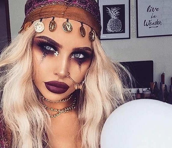 Gipsy look for Halloween event