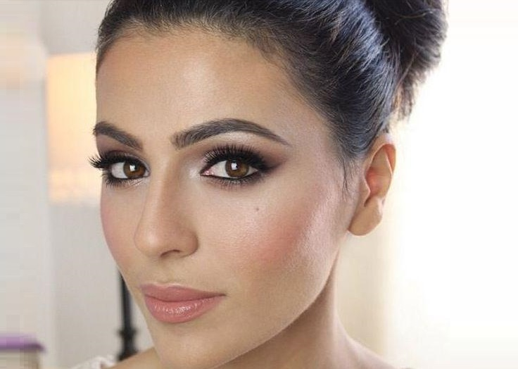 Makeup for brown colored eyes