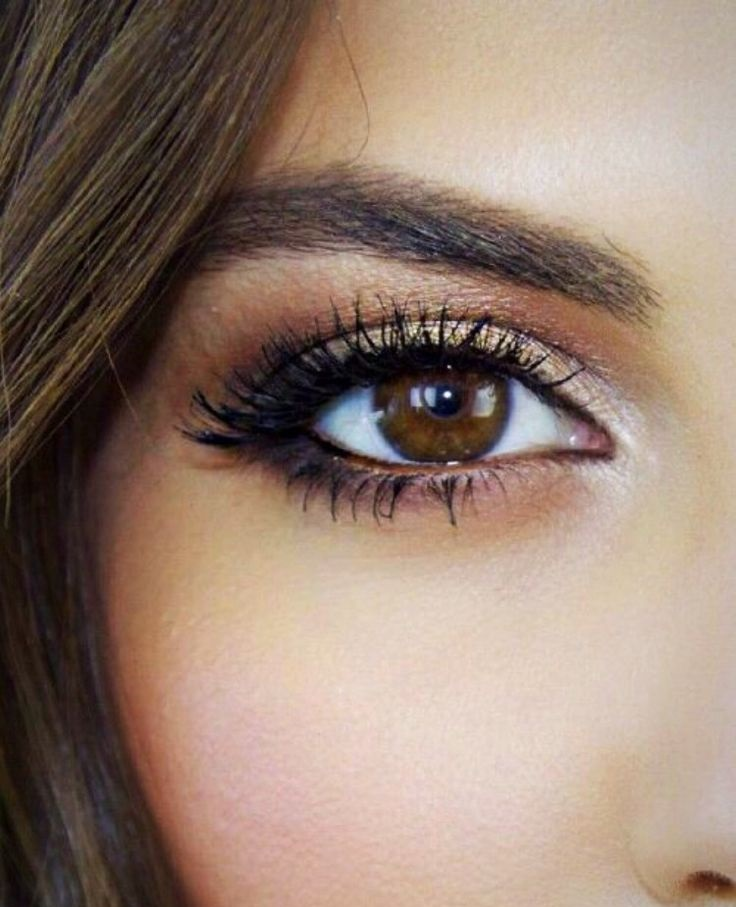Makeup ideas for brown eye color