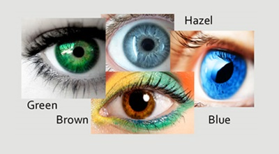 Makeup ideas for different eye colors