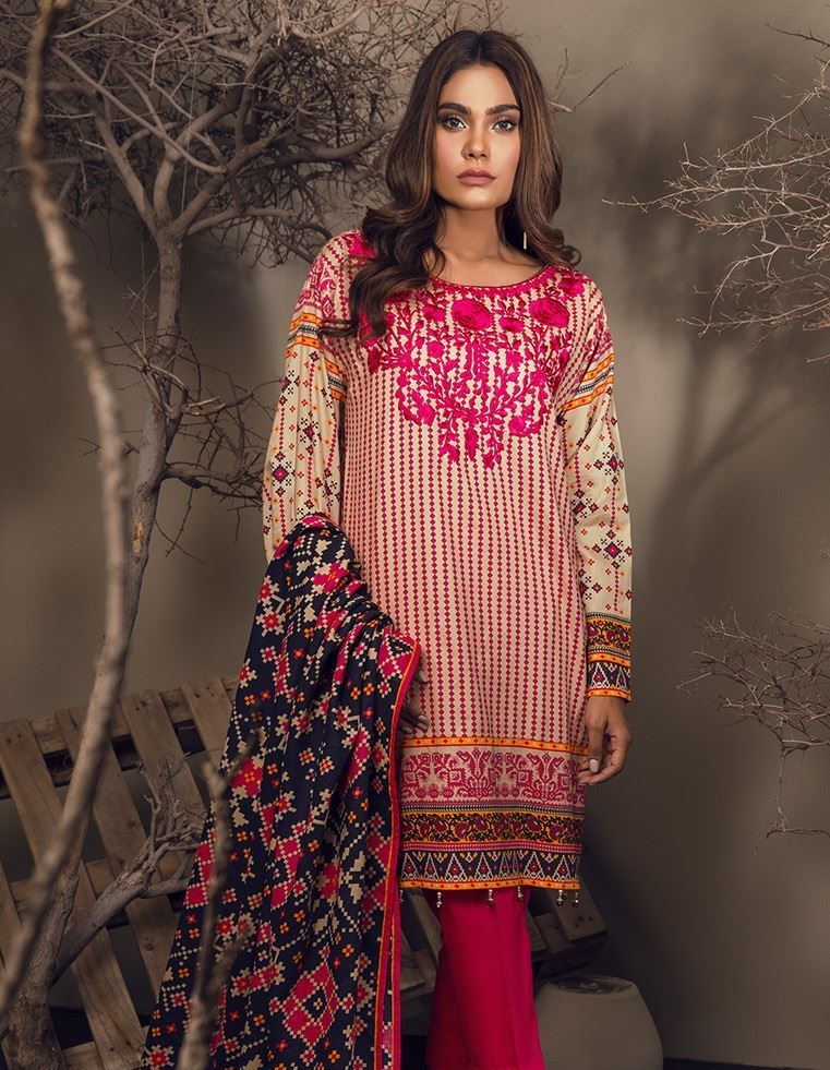 Orient Cottel embroidered dress for women