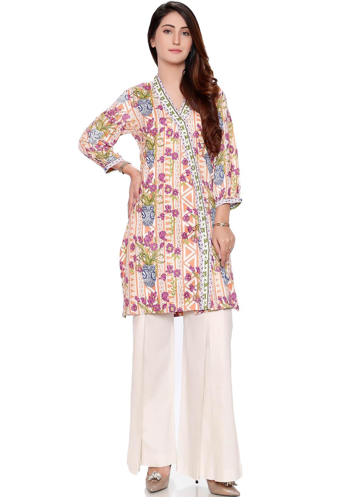 Warda winter linen shirt with bell-bottom pant