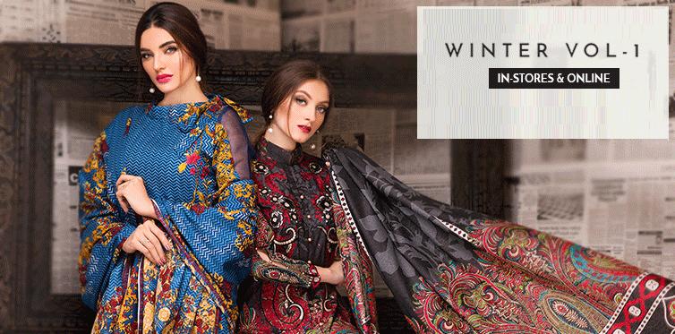 Warda Designer Winter Collection 2018