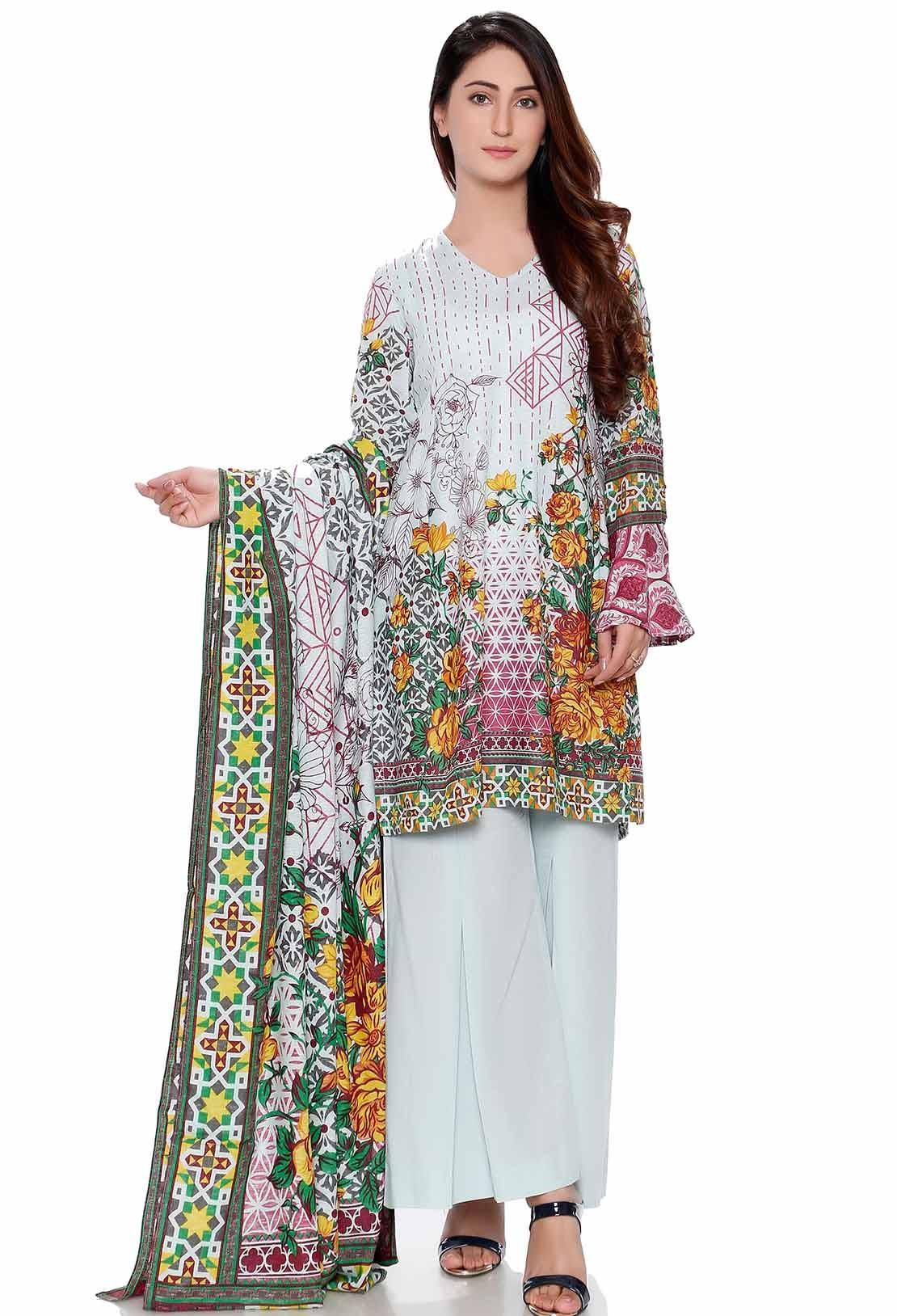 Warda silk karandi winter dress