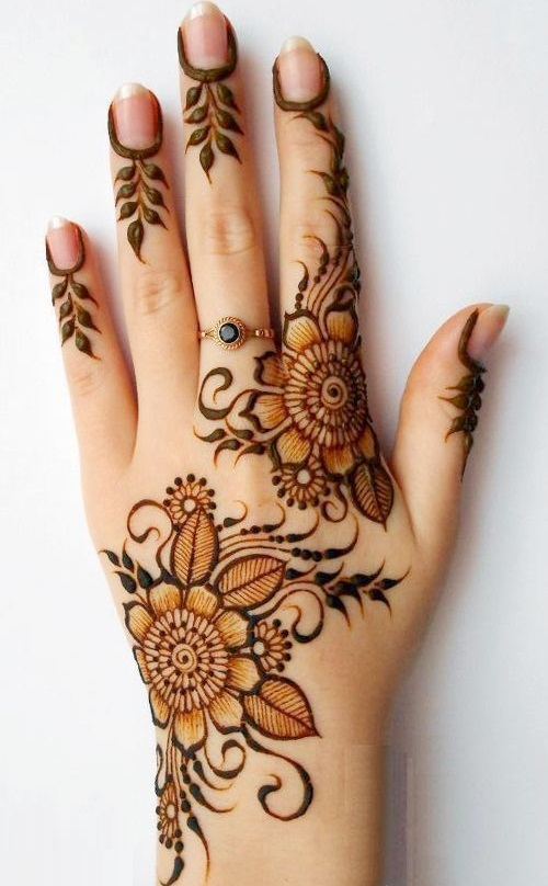 Formal designs of shaded mehndi (2)