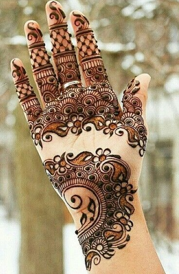 Formal designs of shaded mehndi (3)