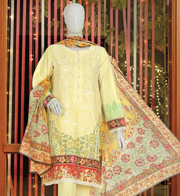 J. embroidered winter suit for ladies