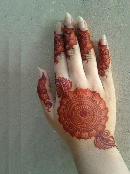 Shaded tikki style mehndi designs (2)
