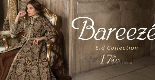 77debec868e Bareeze New Festive Eid Embroidered Collection 2018 Catalogue