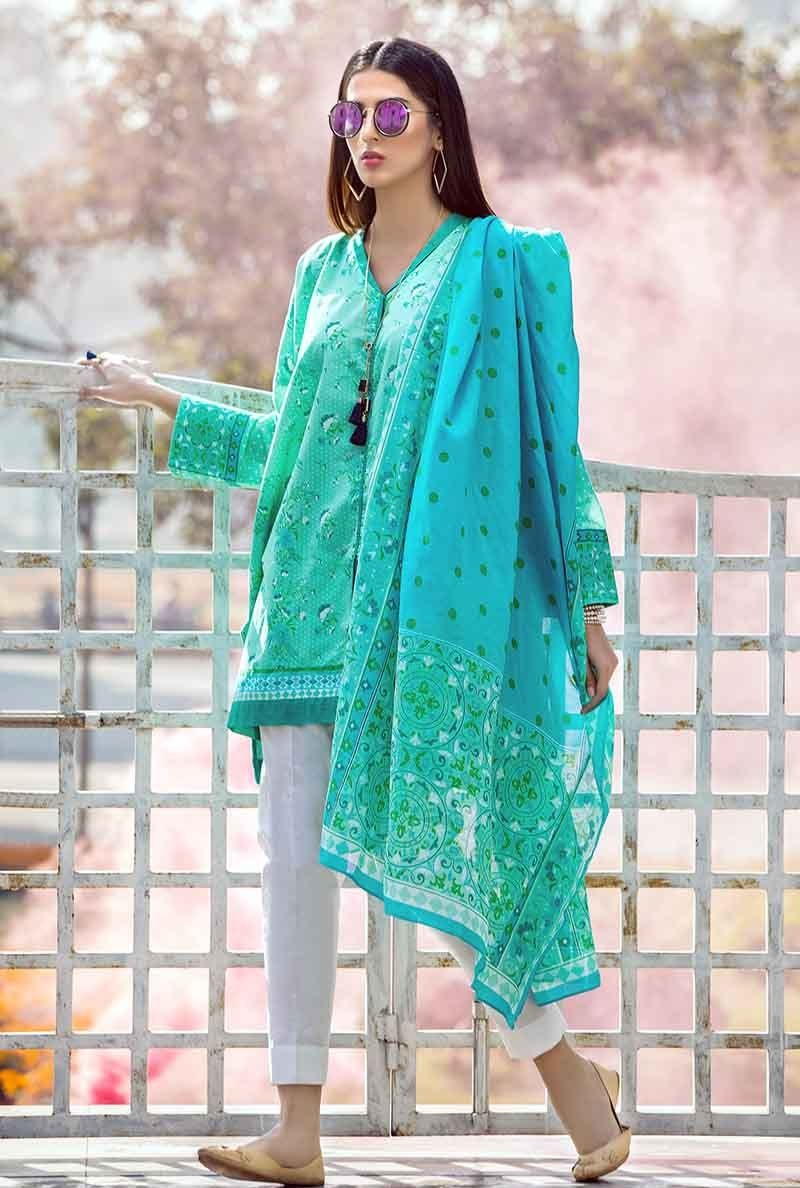 Ferozi Two-Piece Lawn Outfit TL-168 B