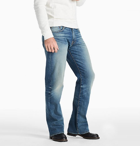 Bootcut jeans trend