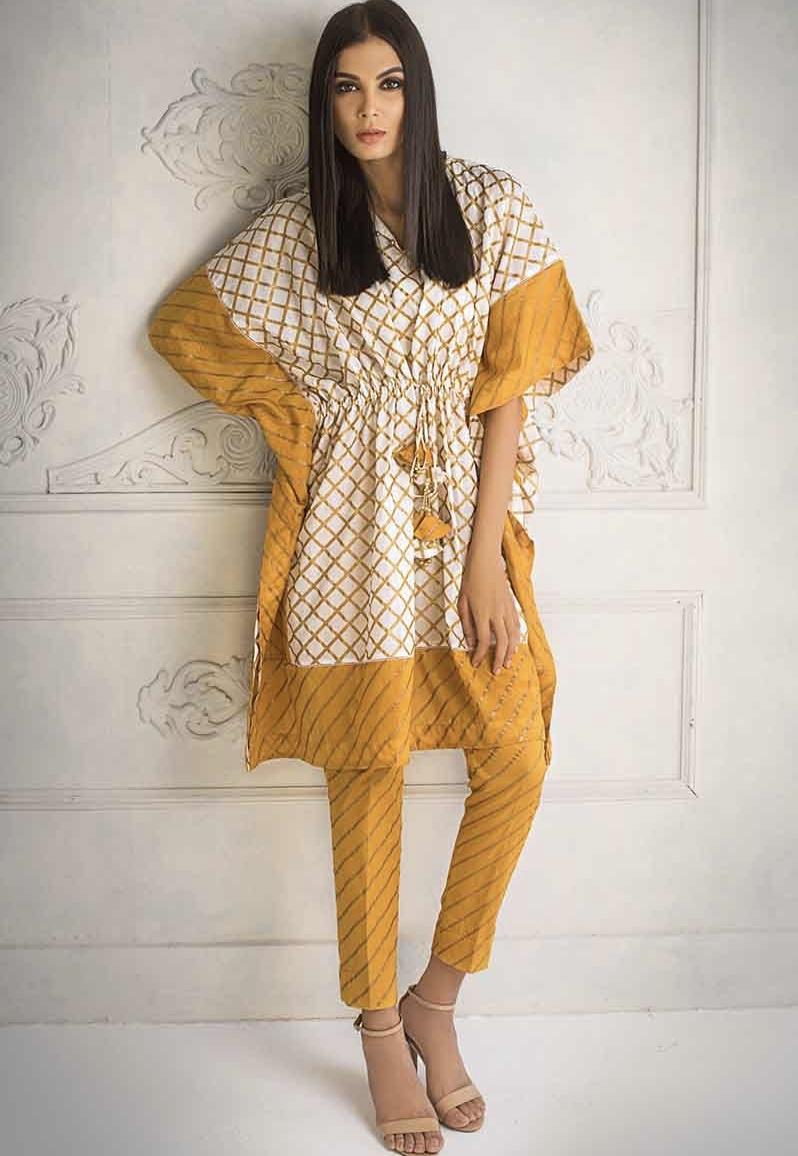 Beautiful yellow Eid suit for women