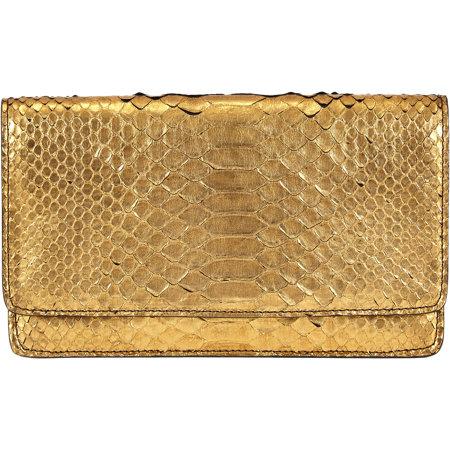 stylish golden clutch by Barneys New York