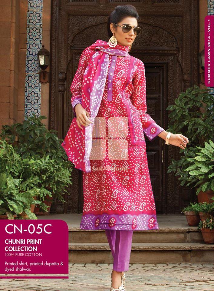 gul-ahmed-chunri-lawn-designs-2014