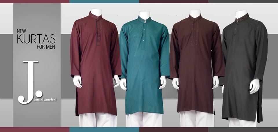 junaid-jamshed-kurta-collection-2014-for-men