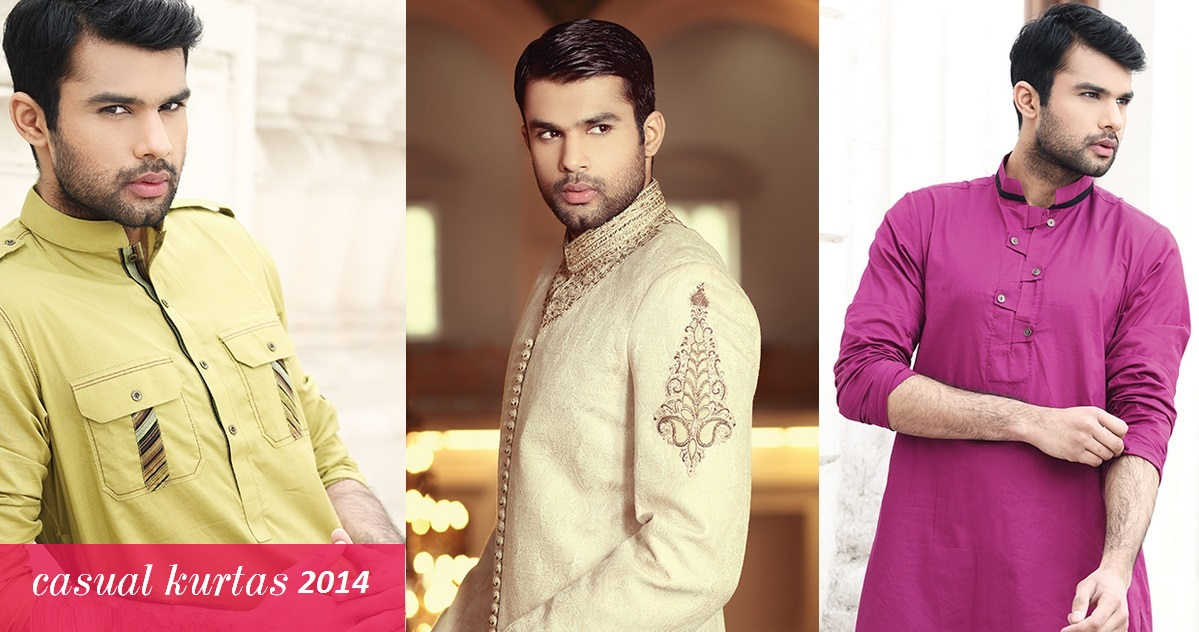 chinyere-casual-kurta-collection-for-men-2014