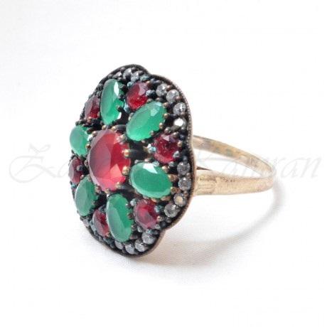 zircon stone engagement ring