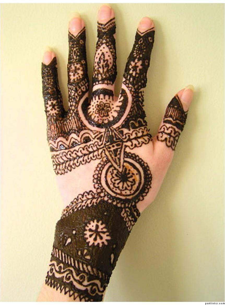43 Beautiful Punjabi Mehndi Designs - Easy Mehndi Designs for Girls