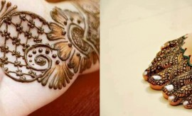 Stylish and Trendy Pakistani Mehndi Designs 2017-2018 for Henna Lovers