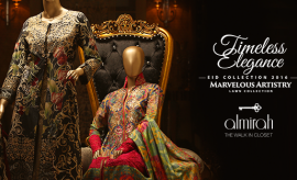 Almirah Latest Fancy Eid Suits for men and women