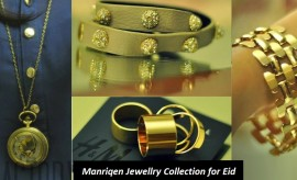 Manriqen Eid Jewellery and Accessories Exclusive Collection 2018