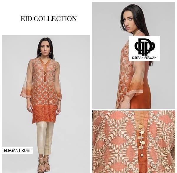 Deepak Perwani Eid Dresses 2016-2017 Designs (2)