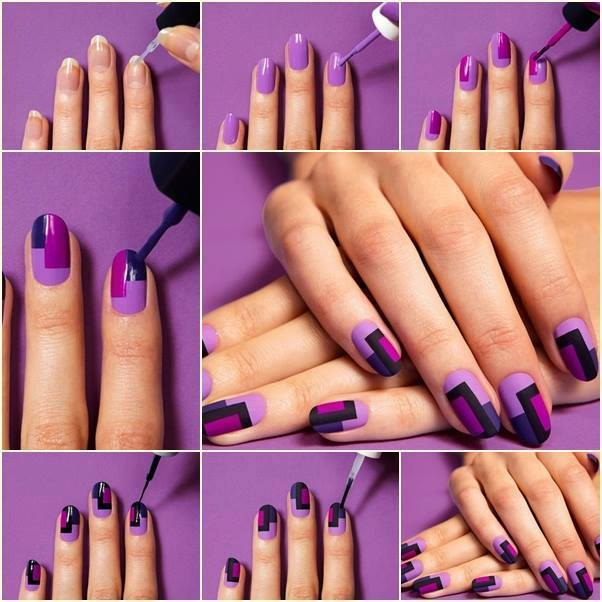 Easy Nail art tutorial step by step (29)
