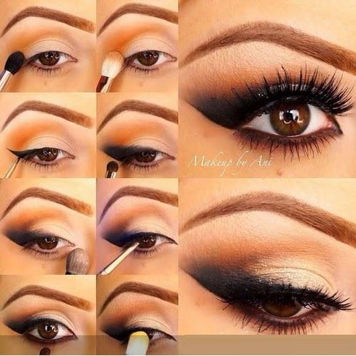 Eye makeup for eid