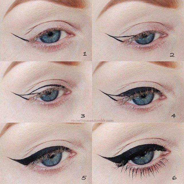 How Do You Apply Cat Eye Makeup Cartoonview