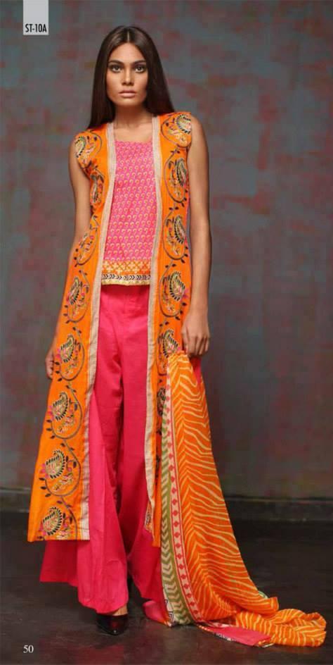 Eid dresses 2014 by Feminine (2)