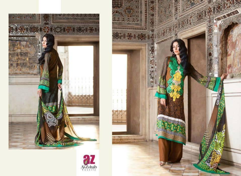 embroidered eid dresses 2014