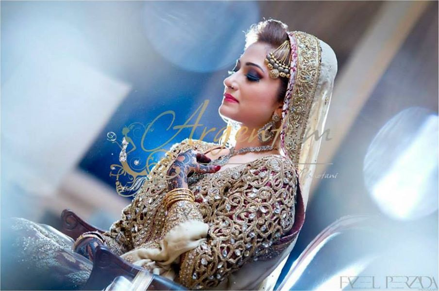 Royal Bride in Nadia Chhotani Bridal Jewelry