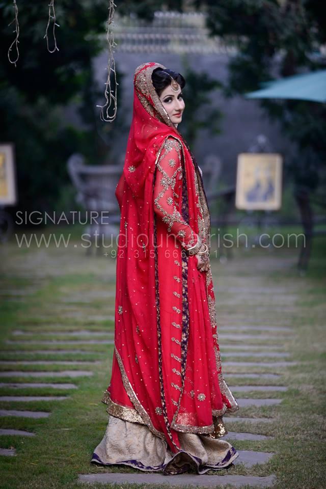 Best Red Bridal Lehenga Designs (15)