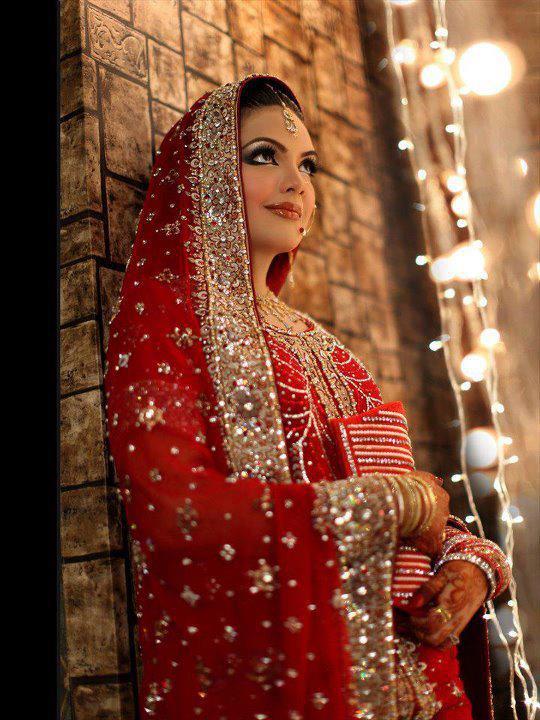 Best Red Bridal Lehenga Designs (12)