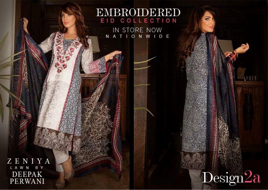 Deepak-Perwani-Embroidered-Eid-Collection-by-Zeniya-Lawn-2014-2015 (1)