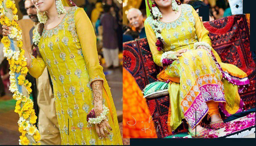 Yellow-Bridal-Mehndi-Dresses (2)
