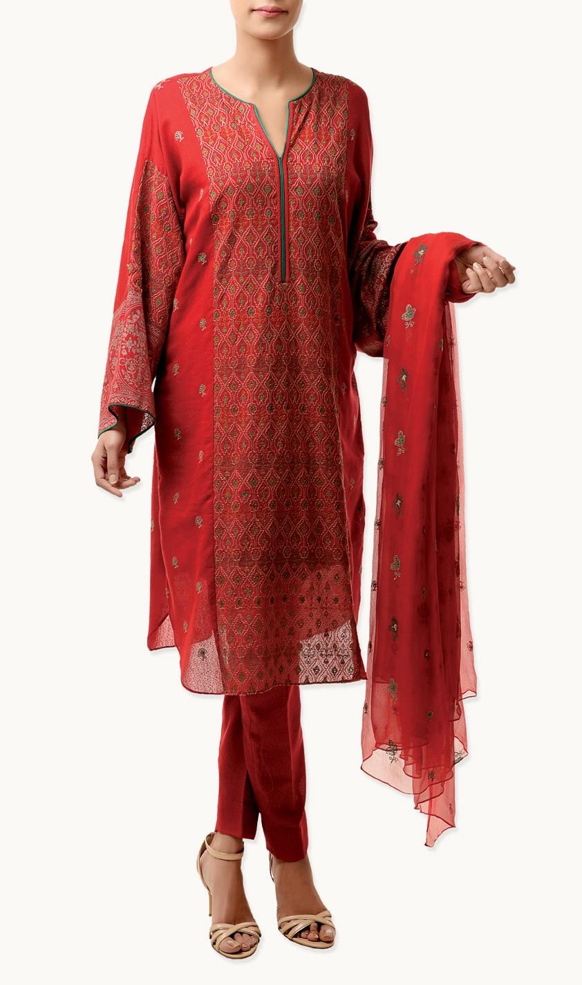 Bareeze Cotton Karandi And Lawn Karandi Winter Collection