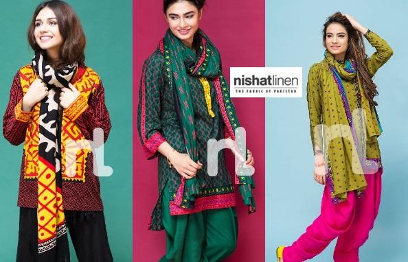 Nisha Nishat Winter Dresses 2016 Collection