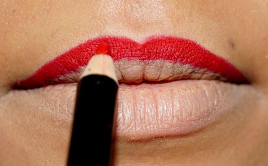 ombre lips tutorial