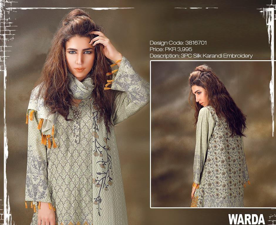 warda silk karandi winter suits 2016