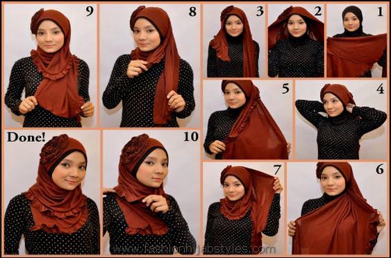 Hijab-tutorial-Arabian-Asian-hijab(30)