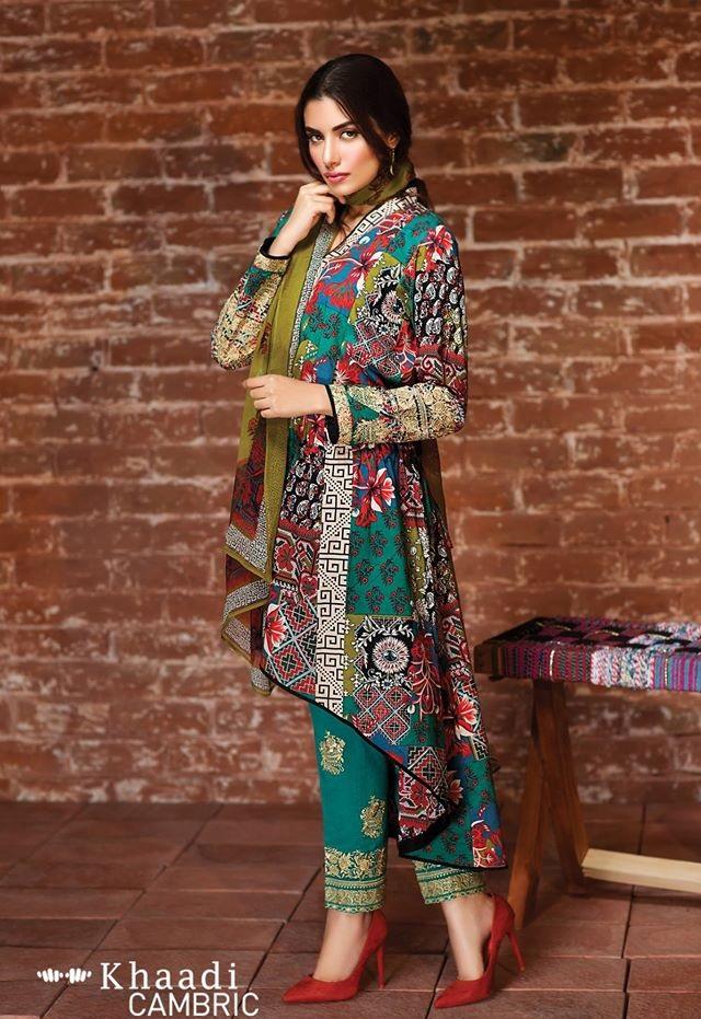 Khaadi Cambric Suits 2016-2017