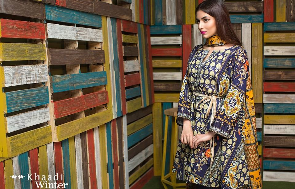 khaadi winter outfit 2016