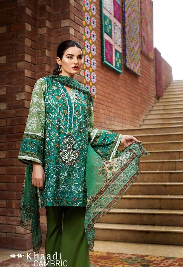 khaadi cambric suits 2016