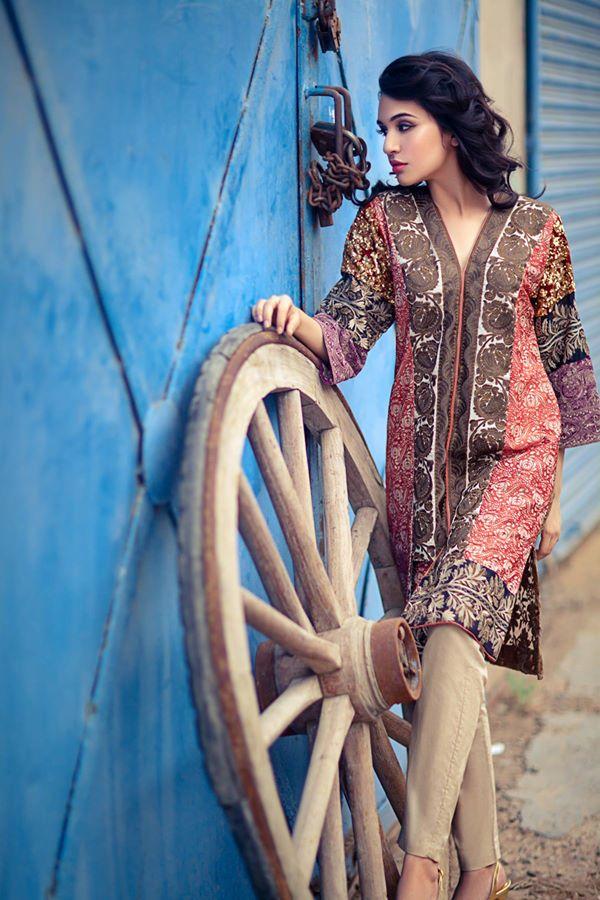 Sana Safinaz RTW Winter suits