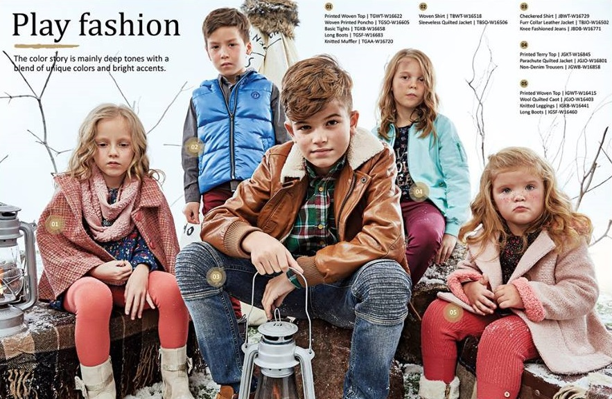 Outfitters kidswear winter dresses 2016-2017