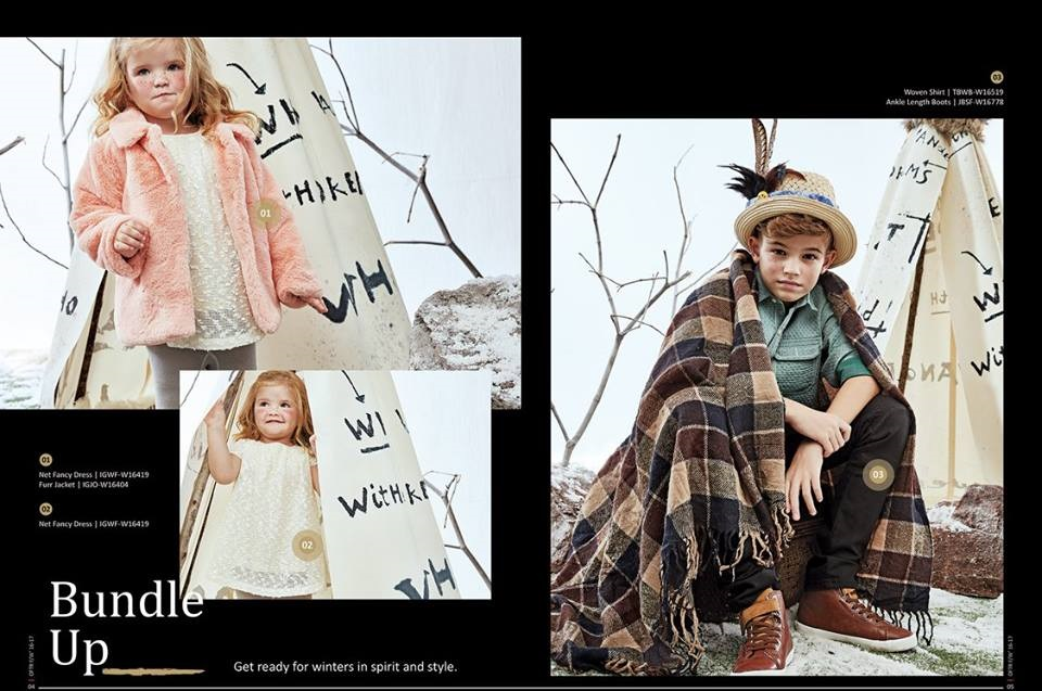 Outfitters Winter Dresses 2016-2017 for babies
